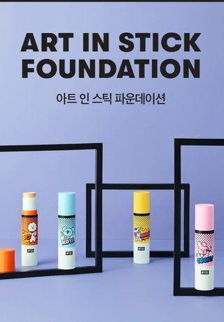 BT21 ART IN STICK FOUNDATION