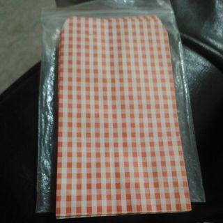 全新 紅格包裝袋19入+萌匙