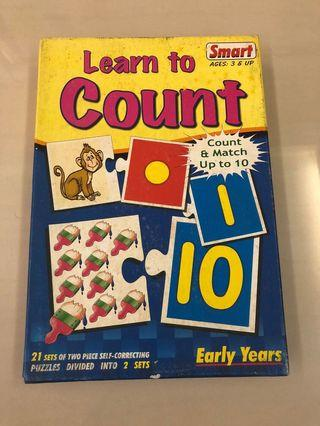 Puzzle - learn to count