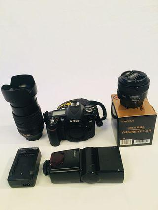 Nikon D90 perfect condition with full set