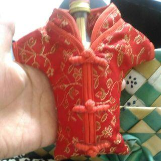 中國風旗袍飾品掛包