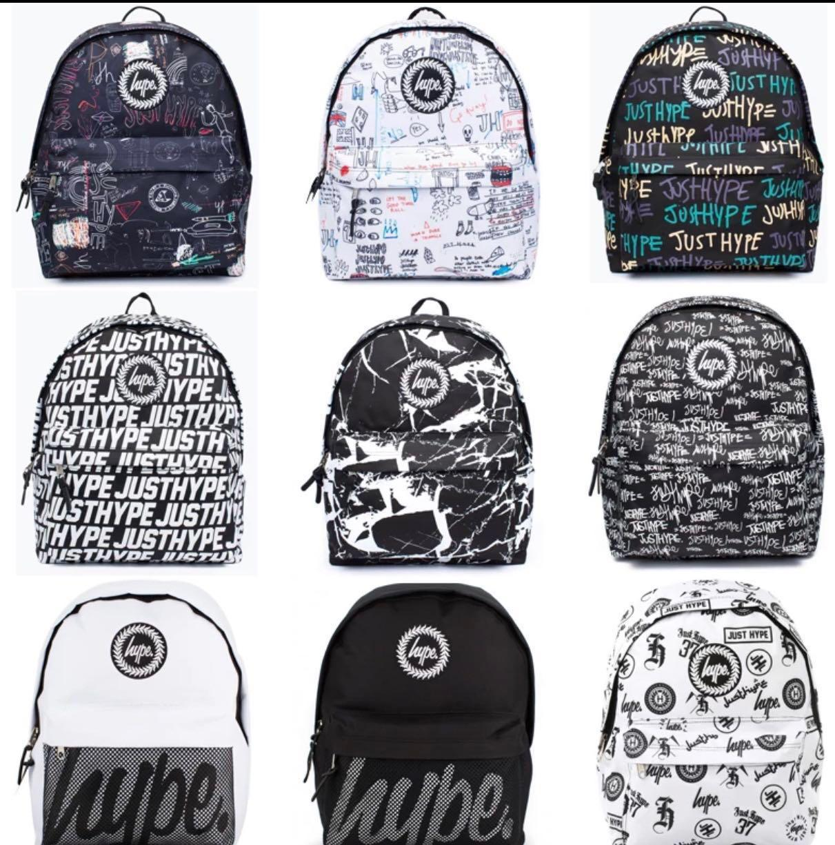100 % authentic hype Backpack (Pre order)