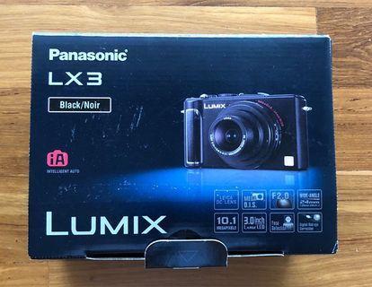 Panasonic Lumix LX 3. Used