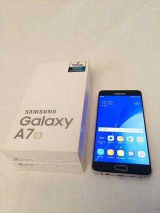 Samsung Galaxy A7 with full box condition fully perfect