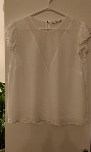 Silk Mango Suit top