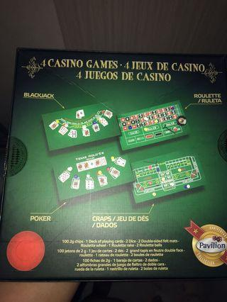 Casino games set up