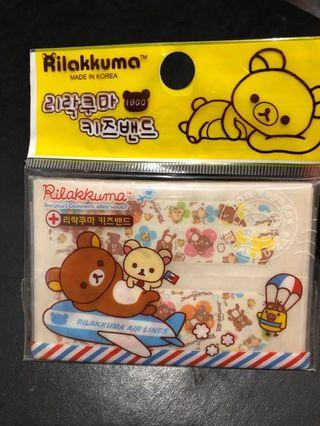🚚 Rilakkuma envelope holder plasters bandages and cards