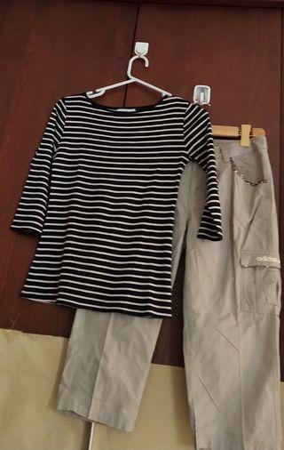 #MauvivoStelan Kaos Zara n Celana pndk Adidas