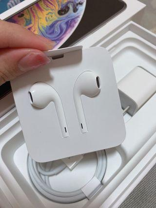 iphone原廠有線耳機 (新頭)