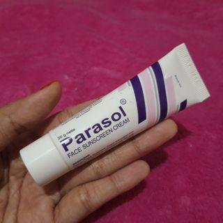 Parasol face sunscreen
