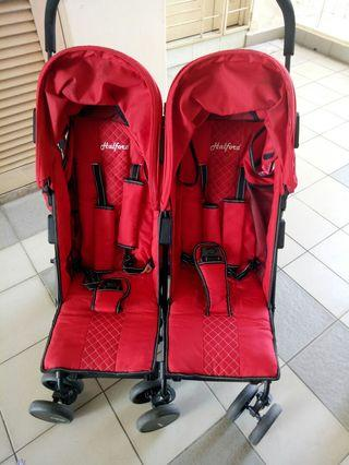 Halford Twin Stroller