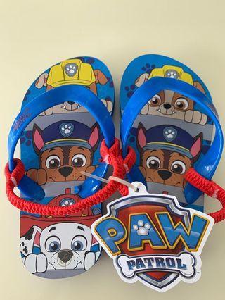 🚚 ORIGINAL New Paw patrol children slipper