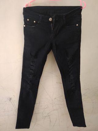 #Mauvivo Jeans Ripped Black