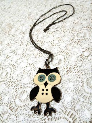 #mauvivo Kalung Owl