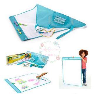 Crayola Color & Erase Mat, Travel Coloring Kit 可卷合活動白板(附畫筆及清潔刷)  特價$159 (7月初到貨)
