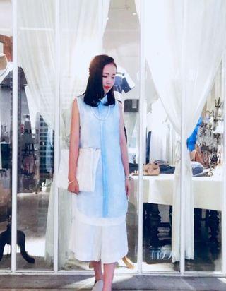 Initial layer dress 背心裙
