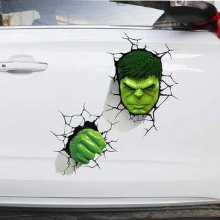 PO READY STOCK **  Marvel Heros 3D Car/Motor Stickers
