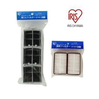 Iris Ohyama IRHS1004 IC-FDC1 除蟎吸塵機專用集塵袋 + 排氣濾網套裝