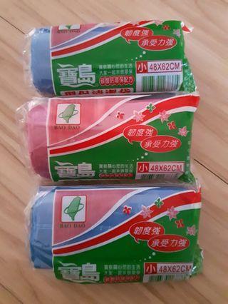 🚚 寶島環保清潔袋  垃圾袋 3捲 小