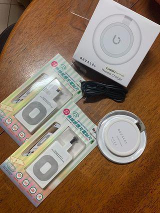 🚚 美國BEZALEL Futura Turbo無線快充版+無線感應充電貼片x2 (iPhone )