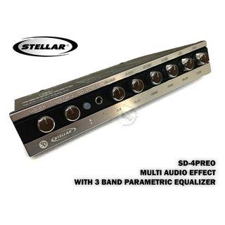 STELLAR (SD-4PREO) MULTI AUDIO EFFECT WITH 3 BAND PARAMETRIC EQUALIZER