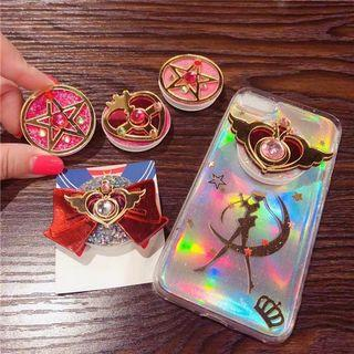 PO LLM190971 Sailormoon Glittering Mobile Pop Up Bracket