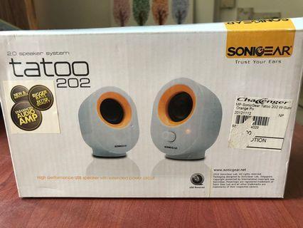🚚 Sonic Gear Speakers - Tatoo 202 BNIB!