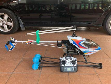 RC Helicopter gas powered