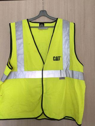 🚚 Caterpillar safety vest reflective material