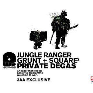 Threea WWR Jungle Grunt and Square (pls read description)
