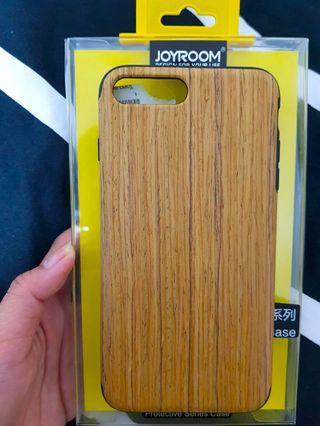 Wooden Silicon Case for iPhone 7 Plus & 8 Plus