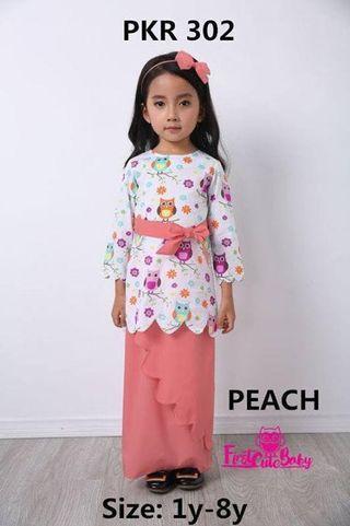 Baju kurung moden kanak kanak