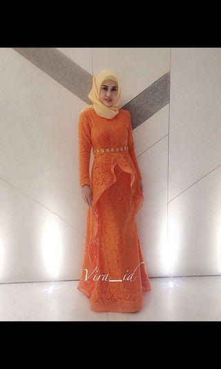 Long Dress Lace Set (Top & Skirt) @VIRA_ID