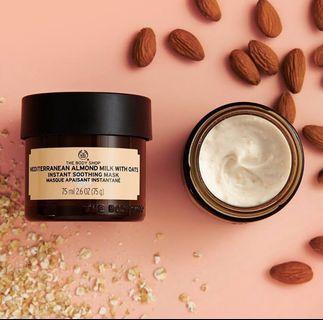 Almond Milk & Oat Mask for moisturising