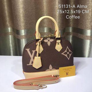 LV Alma BB 25cm coffee