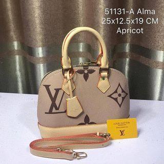 LV Alma  Apricot Bag