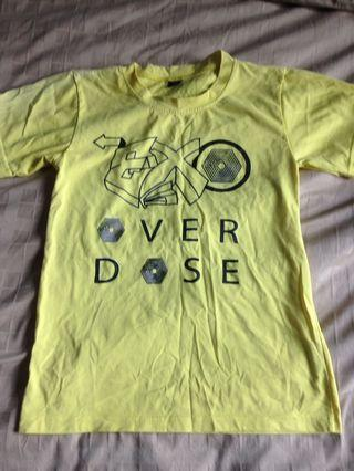 EXO Yellow T-shirt Size S
