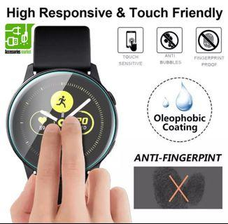 samsung galaxy watch active tempered glass