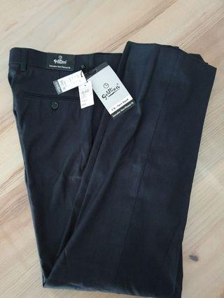 BNWT - Goldlion Non-Pleated Fit Black Pants (W32)*