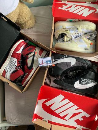 Nike Off White Sneakers