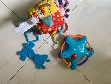 🚚 Baby toys bundle