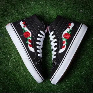 Vans Rose Embroided