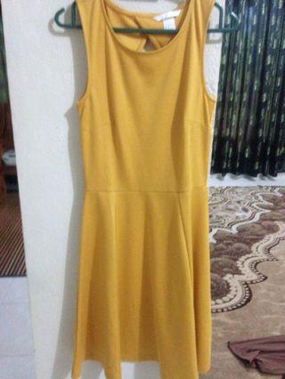 Yellow Dress h&m