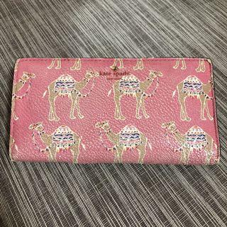 Kate Spade Pink Camel March Stacey Wallet