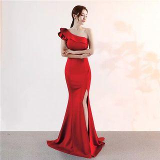 2019-2020 Red Evening Gown