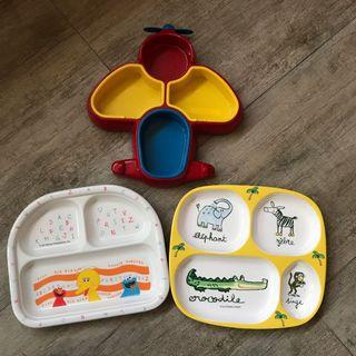Trio Bundle Kids plate