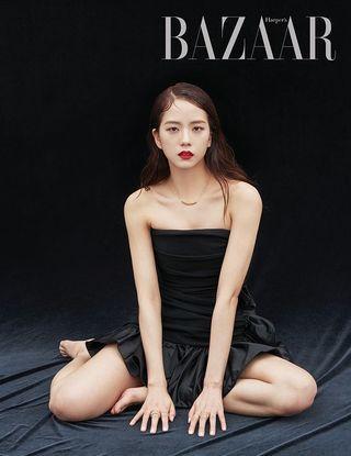 JISOO, LISA - Harper's Bazaar Magazine June Issue