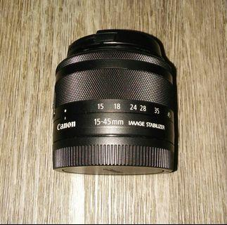 Canon EOS Ef M 15- 45mm IS STM