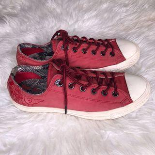 converse chinese new year of the dragon red limited edition