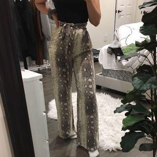 MENDOCINO snake print pants
